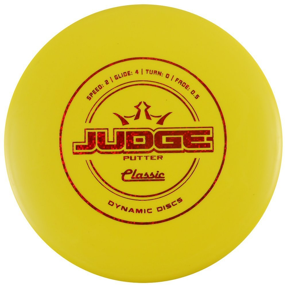 Classic Judge Putter Golf Disc [Colors may vary] - 173-176g, Colors may vary By Dynamic Discs