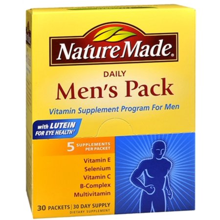 2 Pack - Nature Made Daily Pack Hommes supplément de vitamine Programme 30 Chaque