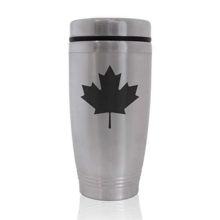 (Commuter Travel Coffee Mug - Maple Leaf)