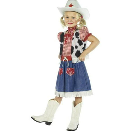 Cowgirl Sweetie Child Costume - Cute Cowgirl Costumes