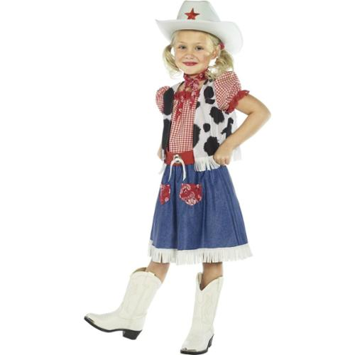 Child Cowgirl Sweetie Costume Smiffys 36328  sc 1 st  Walmart & Cowgirl Costume