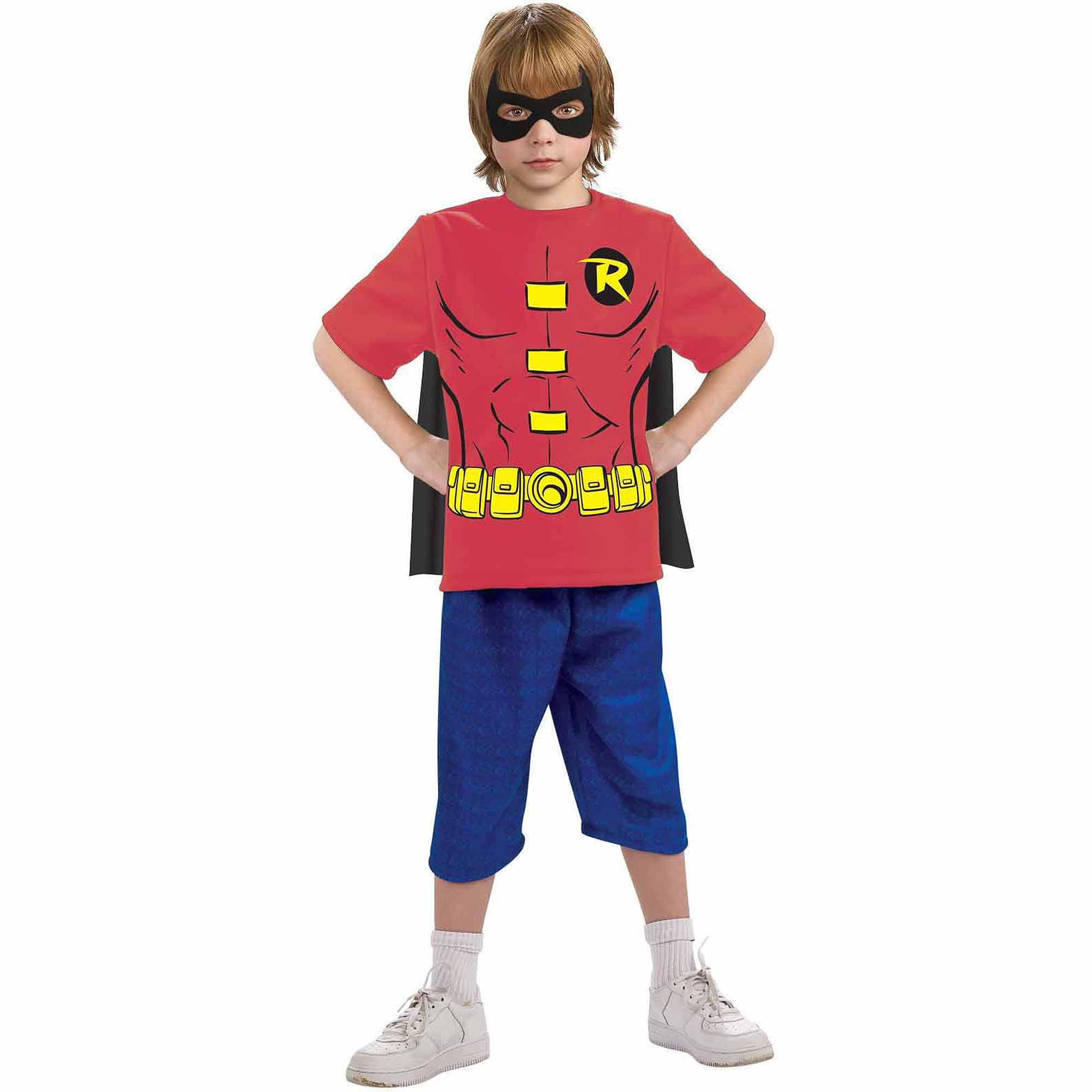 ROBIN CHILD SHIRT MASK CAPE MD