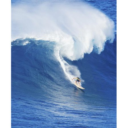 Posterazzi DPI12301039 Extreme Surfer Riding Giant Ocean Wave in Hawaii Poster Print by Design Pics Vibe, 12 x 15 - image 1 of 1