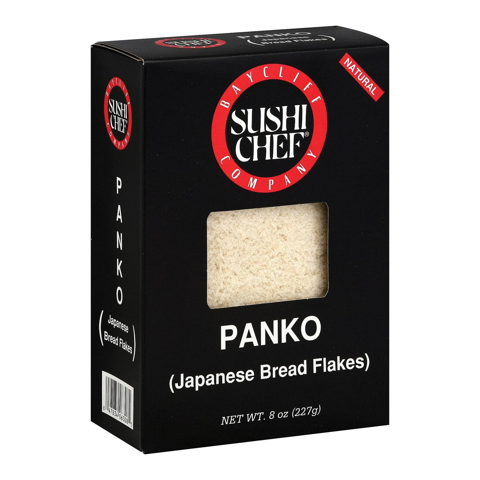 Sushi Chef Japanese Bread Flakes Panko - Pack of 6 - 8 Oz.