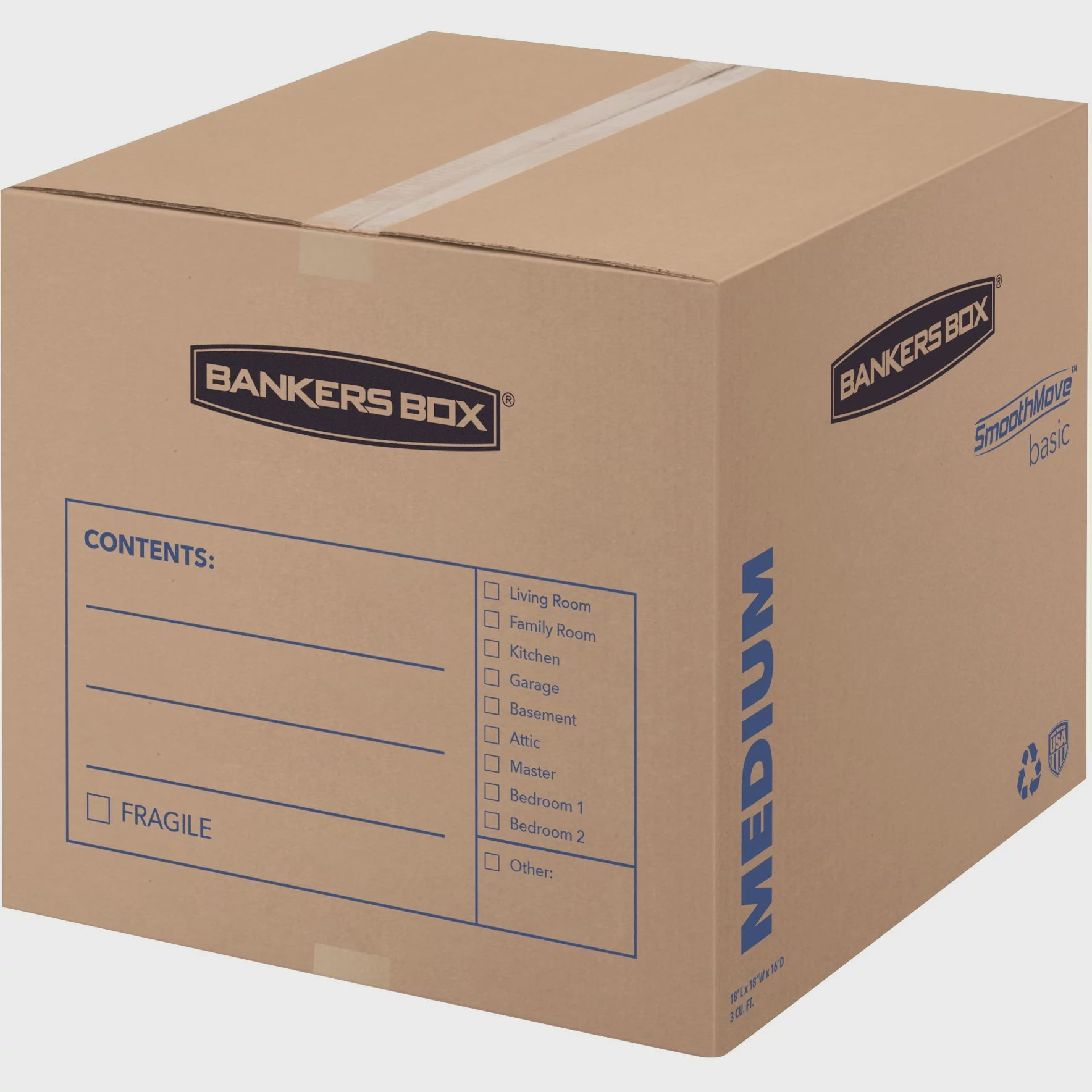 Bankers Box SmoothMove Basic Storage and Moving Boxes ...