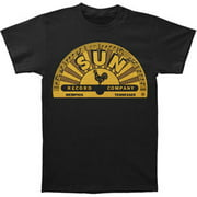 Sun Records Record Label Company Memphis Logo Adult T-Shirt Tee