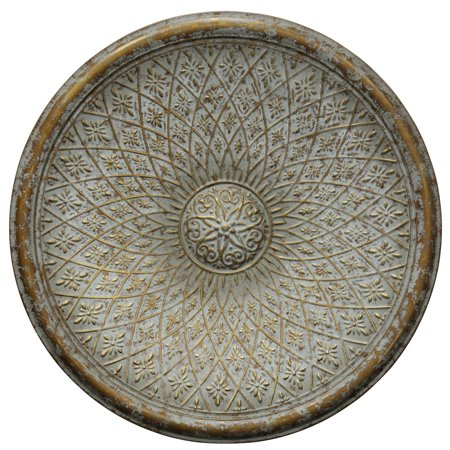 (Patina Bronze Medallion - Traditional Dimensional Wall Decor)