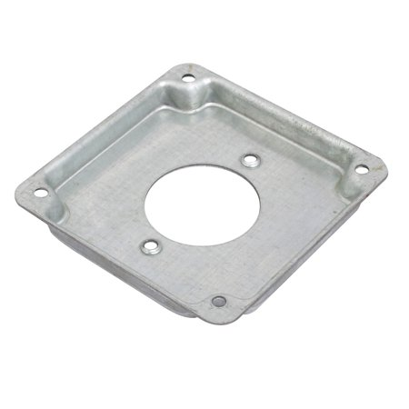 1/2-inch Raised Zinc Plated Toggle Switch Outlet Electrical Box Cover - image 1 of 3
