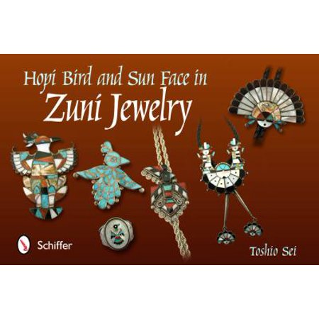 Hopi Bird & Sun Face in Zuni Jewelry