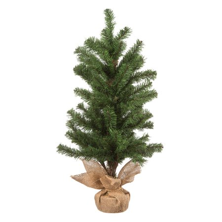 Regina Tabletop Christmas Tree with Burlap Base: 28 inches ()
