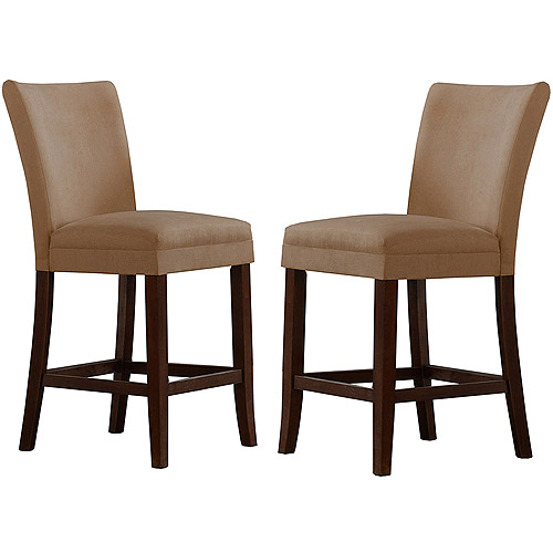 Parson Microfiber Stools, Set of 2, Peat