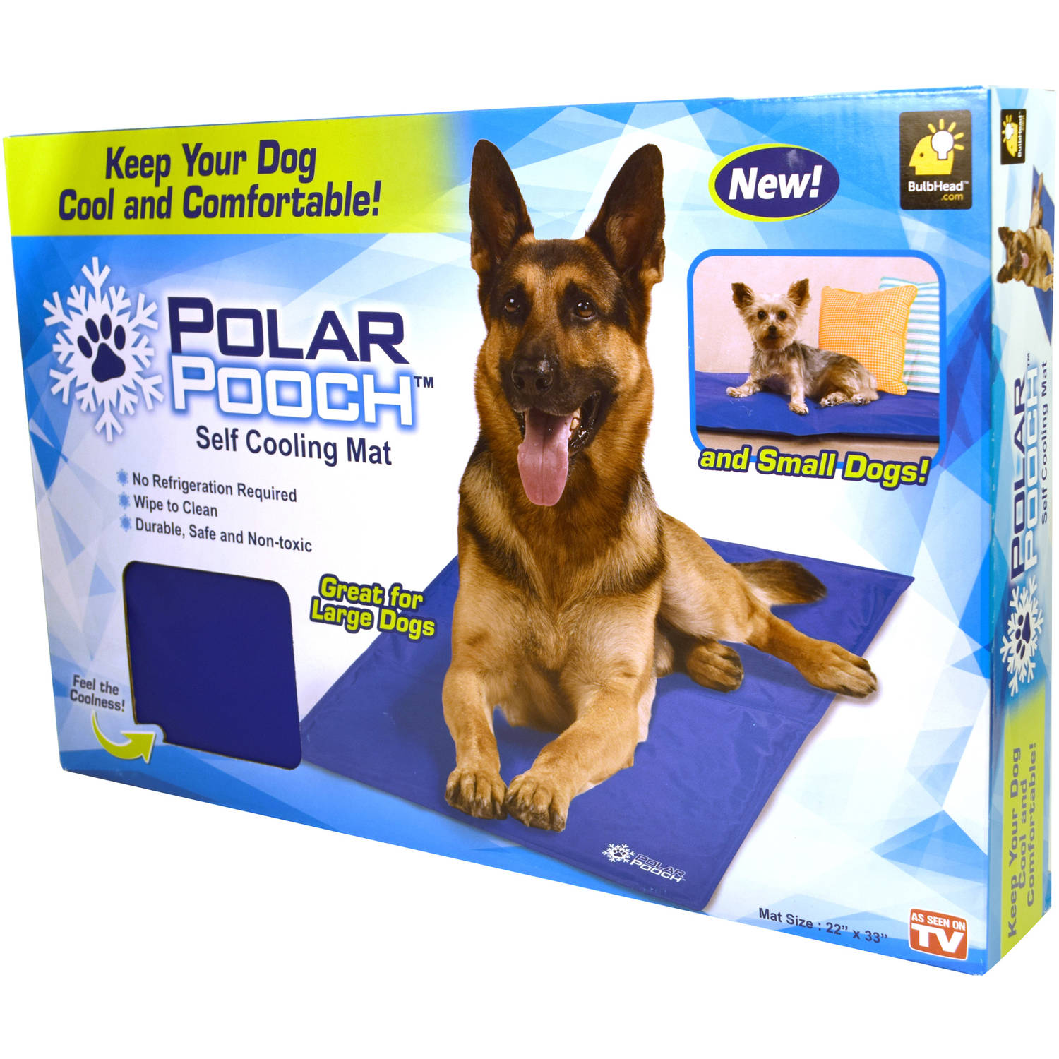 as seen on tv polar pooch cooling mat walmart com