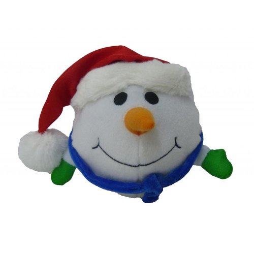 BZB Goods Singing Snowman Musical Plush Toy with Motion