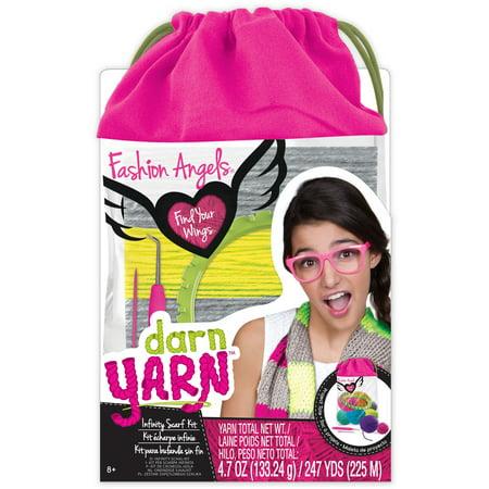 Darn Yarn Infinity Scarf (Best Yarn For Arm Knitting Infinity Scarf)
