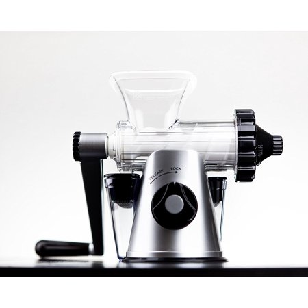 Lexen Healthy Juicer Black and Silver