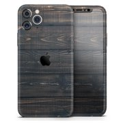 Raw Wood Planks V14 - DesignSkinz Protective Vinyl Decal Wrap Skin Cover compatible with the Apple iPhone 8 (Full-Body, Screen Trim & Back Glass Skin)