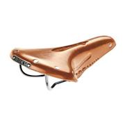 Brooks Team Pro Imperial Leather Road Bike Saddle Honey w/ Chrome Rails & Rivets