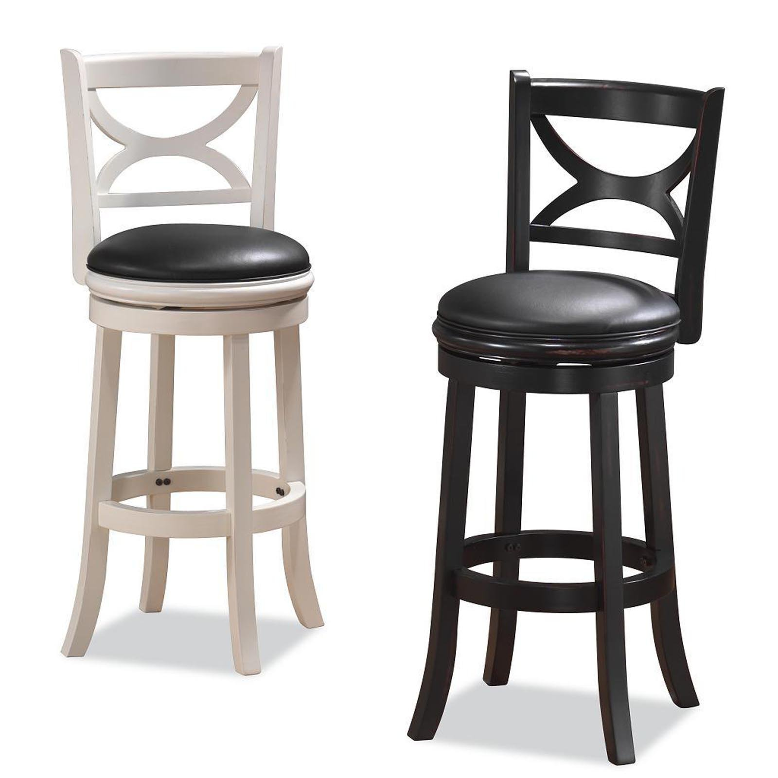 Boraam Florence 24 in. Swivel Counter Stool - Walmart.com