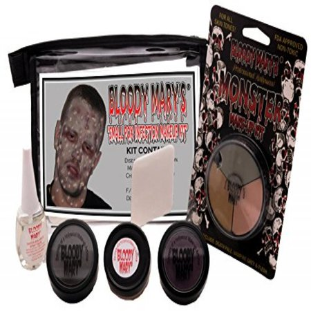 Bloody Mary Small Pox Infection Makeup Kit - Bloody Makeup For Halloween