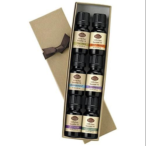 Fabulous Frannie Essential Oil Basic Sampler Set, 10-ml each, Set of 6