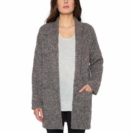 53acf7974dc Matty M Women's Oversized Cardigan Sweater (Graphite, XS/S)