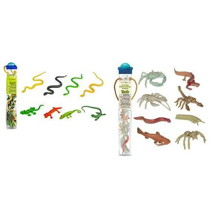 Safari Ltd TOOB 2 Pk - Reptiles and Cave Dwellers - Reptile Toys