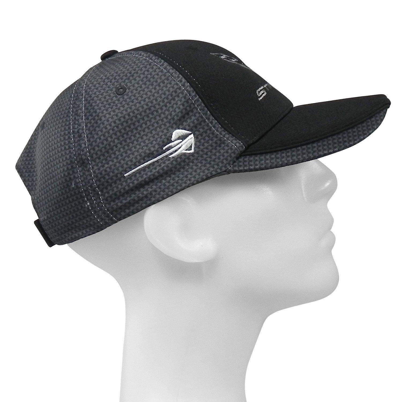 C7 Z06 Corvette Carbon Fiber Look Baseball Hat Black