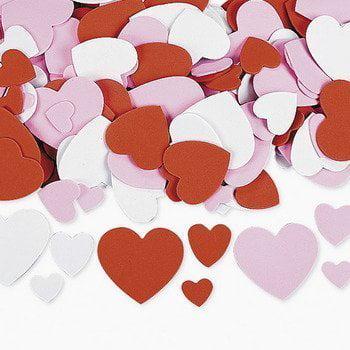 Hearts Galore - Art & Craft Supplies & Foam Shapes