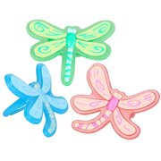 Dragonfly Rings Asst. (8 count)