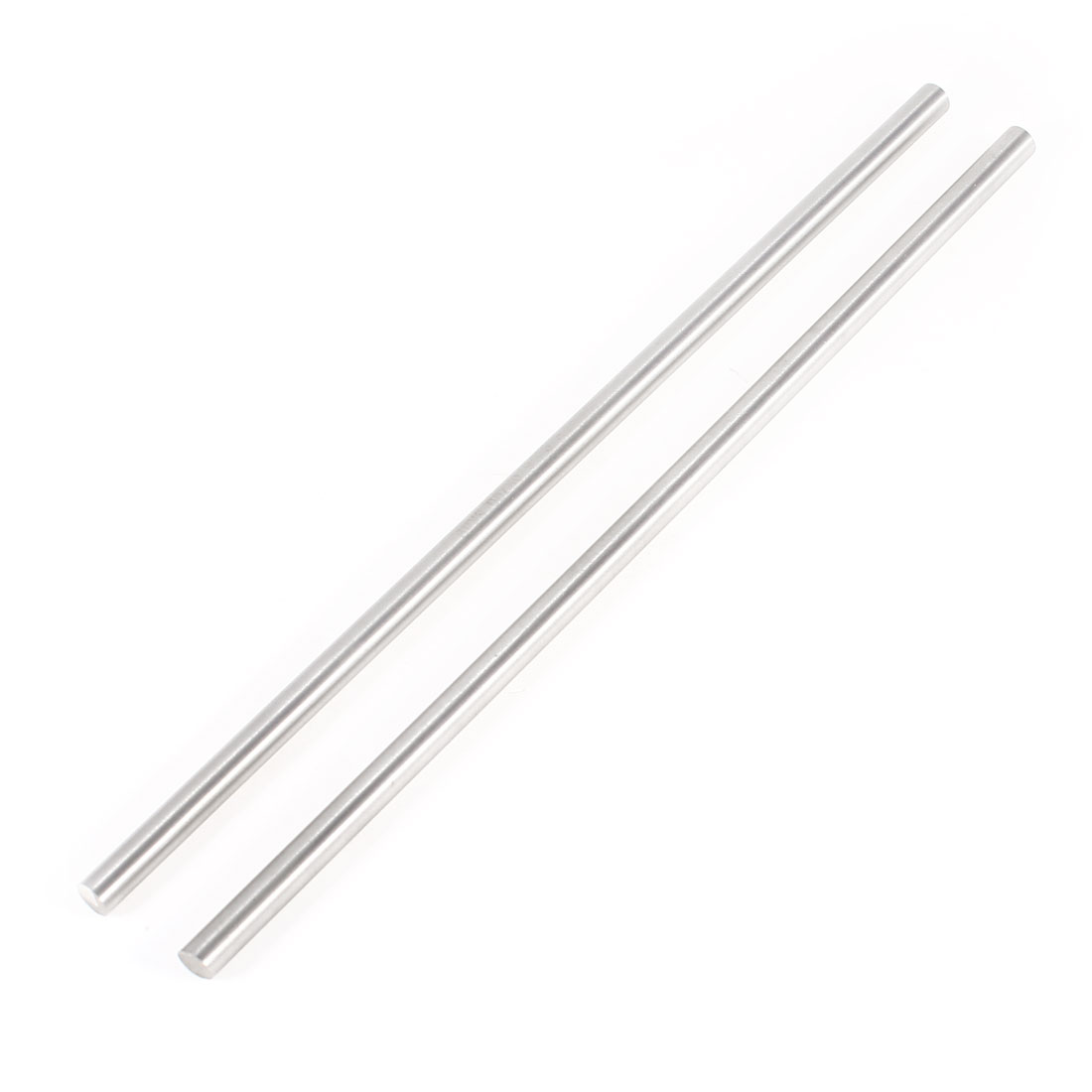 6mm x 200mm Steel Round Turning Bars Gray 2 Pieces for CNC Lathe by Unique-Bargains