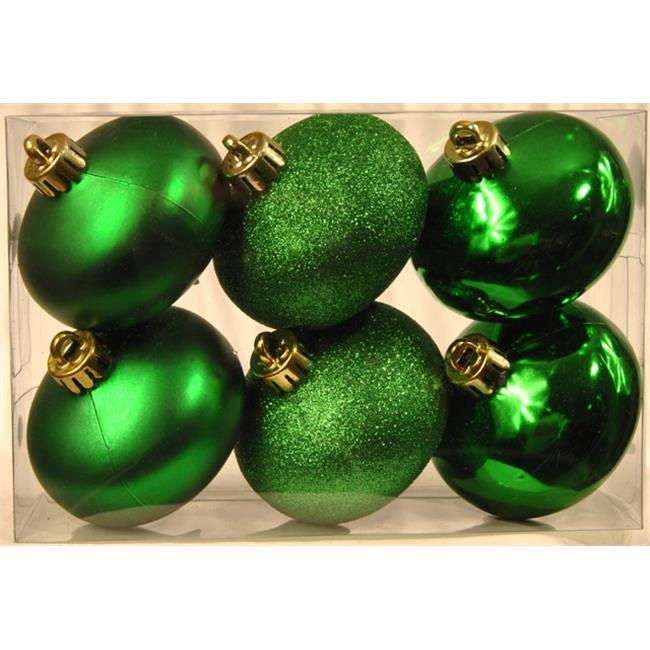 Queens of Christmas Smooth Onion Ornaments - 6 Pack