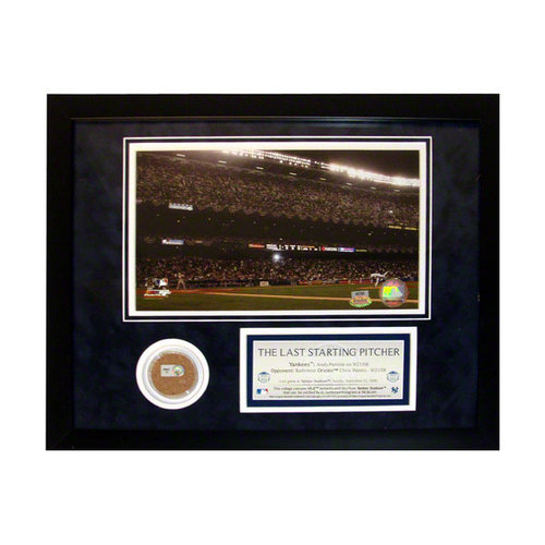 MLB - Andy Pettitte New York Yankees 11x14 Framed Collage with Game Used Dirt The Last Starting Pitcher Photo & Nameplate