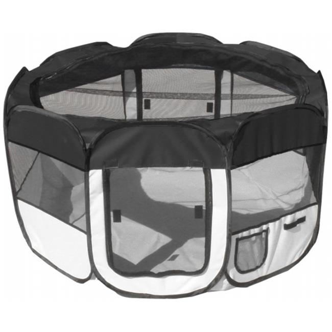 Pet Life LLC 1PPBWLG All-Terrain' Lightweight Easy Folding Wire-Framed Collapsible Travel Pet Playpen