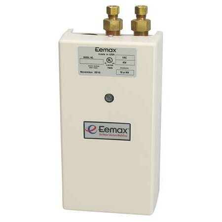 Eemax 5500W Commercial Electric Tankless Water Heater, 240VAC, SP55