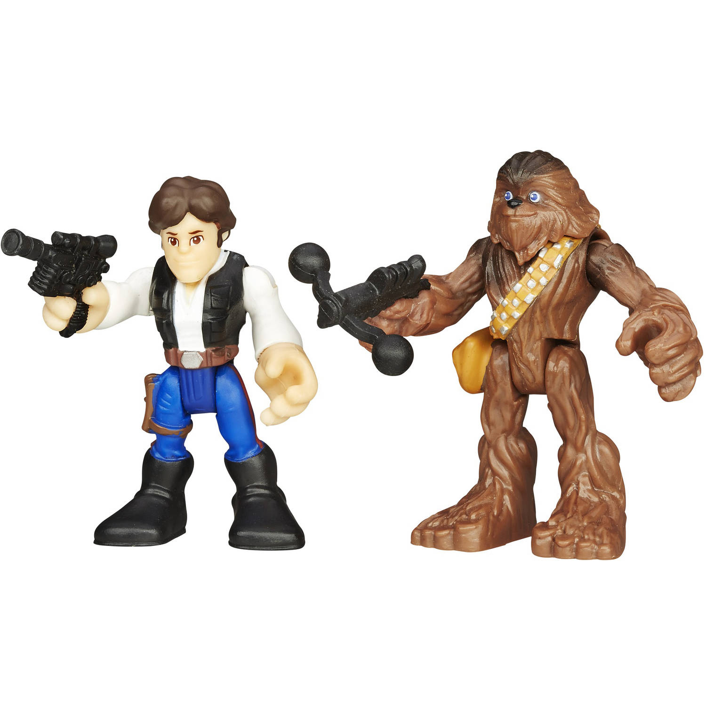 Playskool Heroes Star Wars Galactic Heroes, Han Solo and Chewbacca by Hasbro