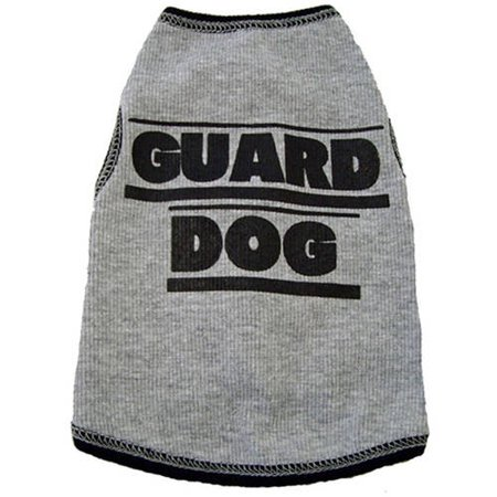 002377 Tank, Guard Dog, Grey, XXS (Best Guard Dog Ever)