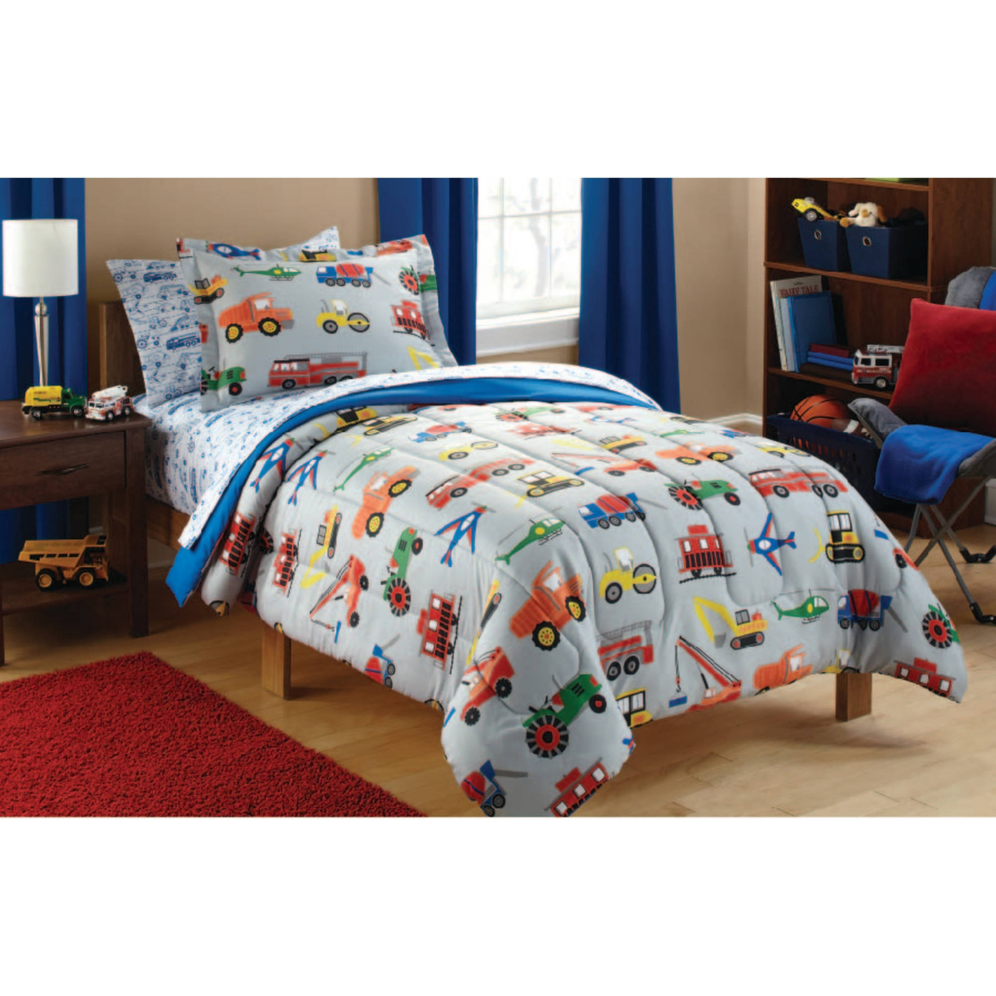 Mainstays Kids Transportation Duvet