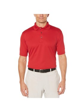 Ben Hogan Men's Performance Short Sleeve Solid Polo Shirt, Up to Size 5xl
