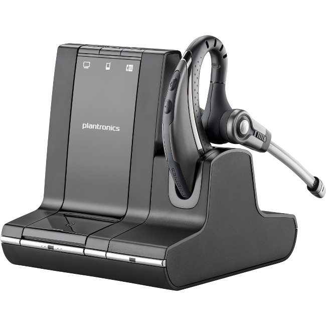 Plantronics W730-M Savi 3-in-1 Over-the-Ear Headset with Mic