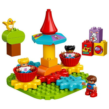 Lego DUPLO My First Carousel 10845 Educational Toy, Large...