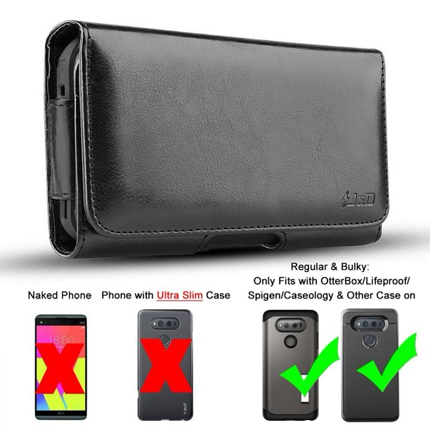 PU Leather Holster Pouch and ID Wallet Case for Google