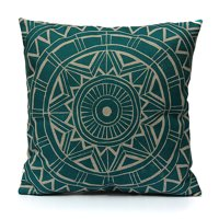 53f8eb980cee Product Image Meigar Compass Vintage Throw Pillow Cushion Cover 18  x18   Cotton  Linen PillowCase