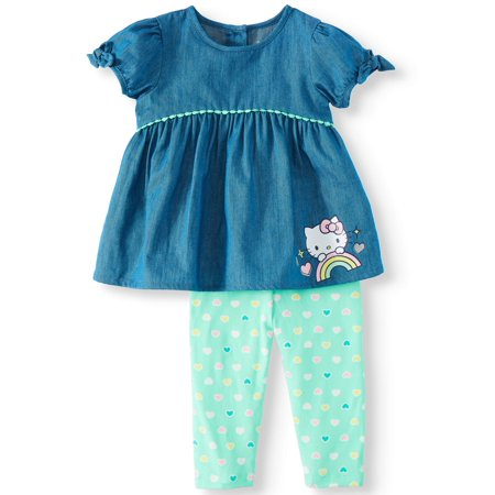 Hello Kitty Ap Baby Girl Character Legging Set (Toy Story Girl Characters)