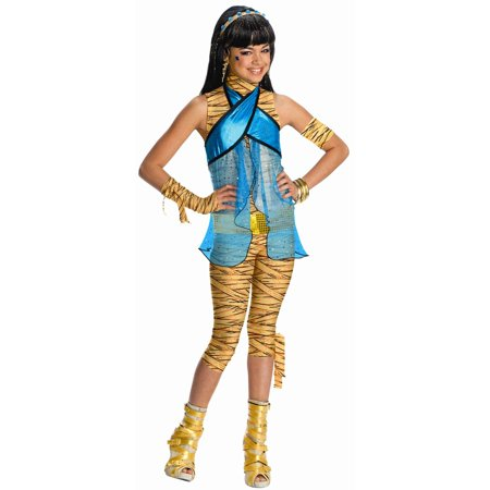 Monster High - Cleo de Nile Child Costume - Large - Cleo De Nile Adult Costume