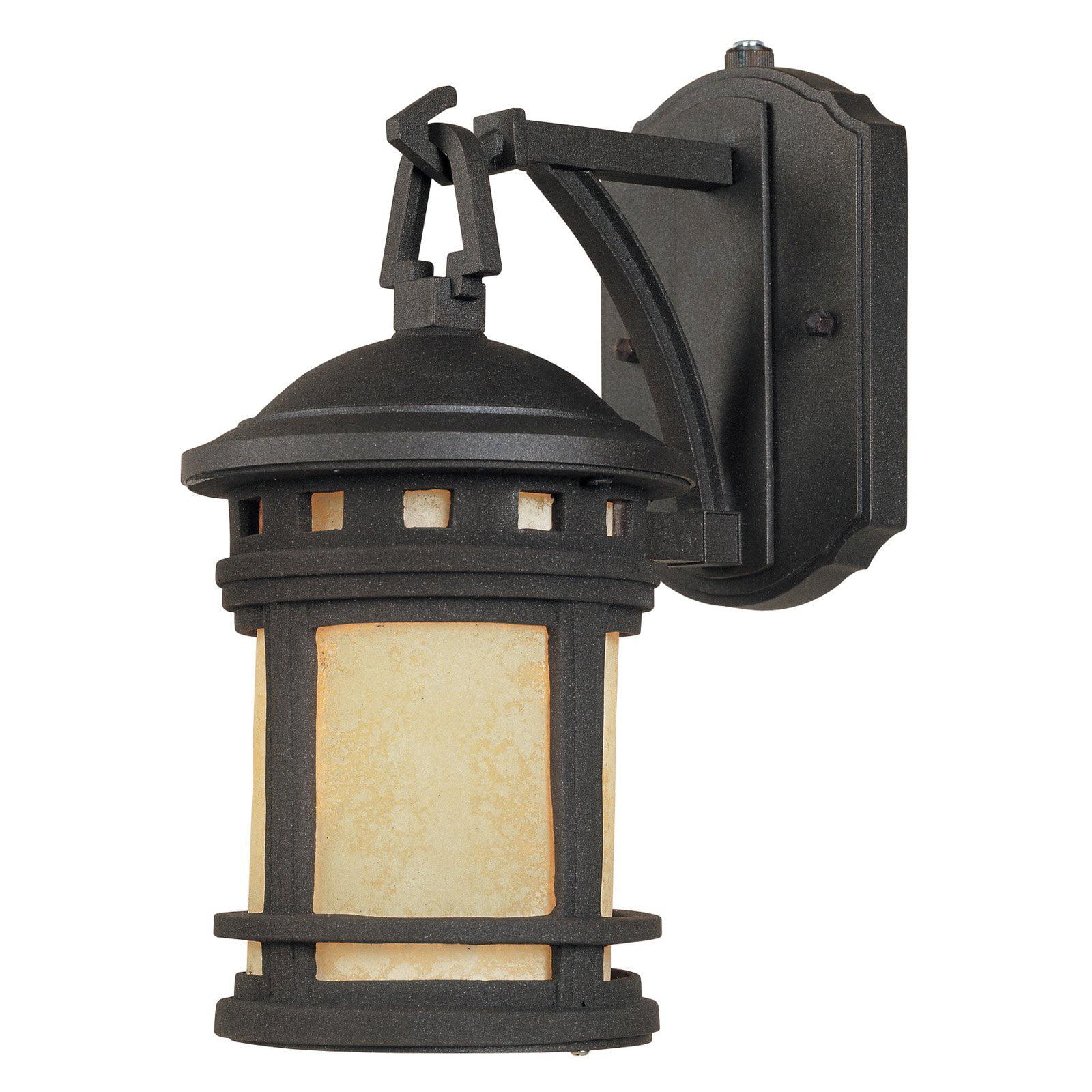 Designers Fountain Outdoor ES2370-AM-ORB Sedona-ES Wall Lantern