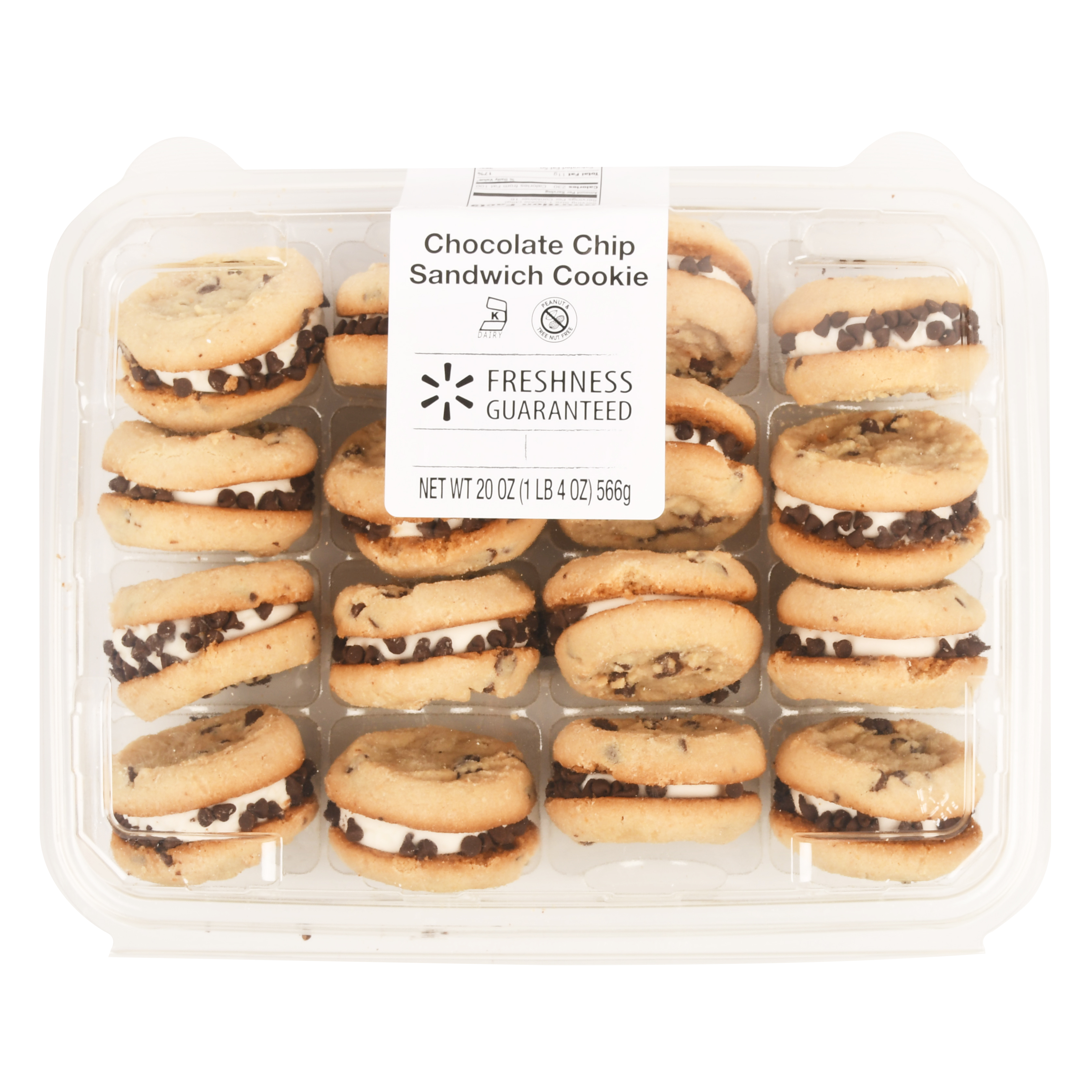 Freshness Guaranteed Chocolate Chip Cookie Sandwich, 20 oz, 16 Count