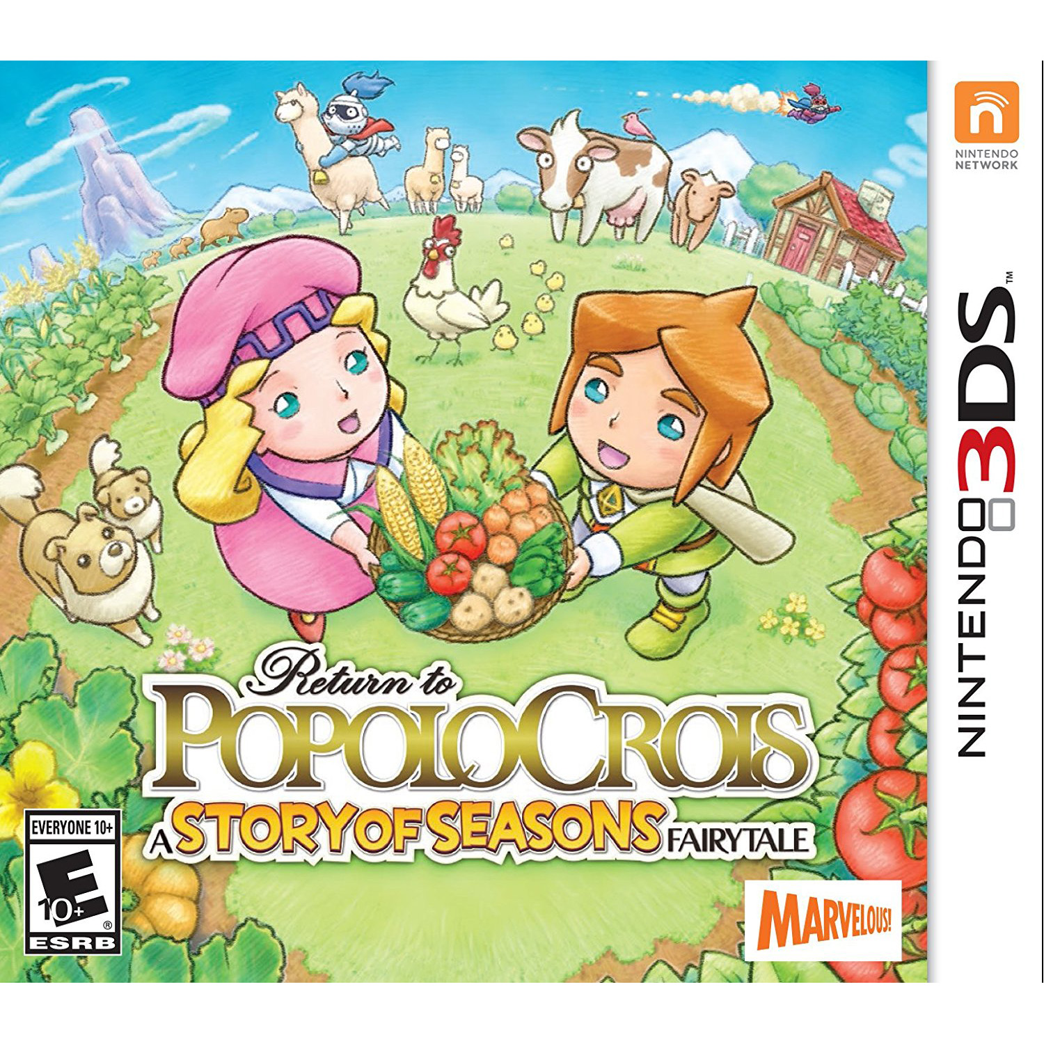 Return Popolocrois Story F - Pre-Owned (Nintendo 3DS)