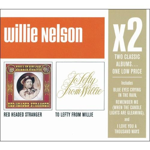 X2: Red Headed Stranger / To Lefty From Willie (2CD)