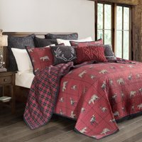 c514cde0474 Product Image HiEnd Accents 3-PC Woodland Plaid Quilt Set