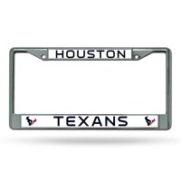 Rico Industries NFL Color License Plate Frame, Houston Texans